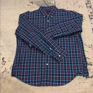 NWT. J.Crew Men's plaid shirt XL.
